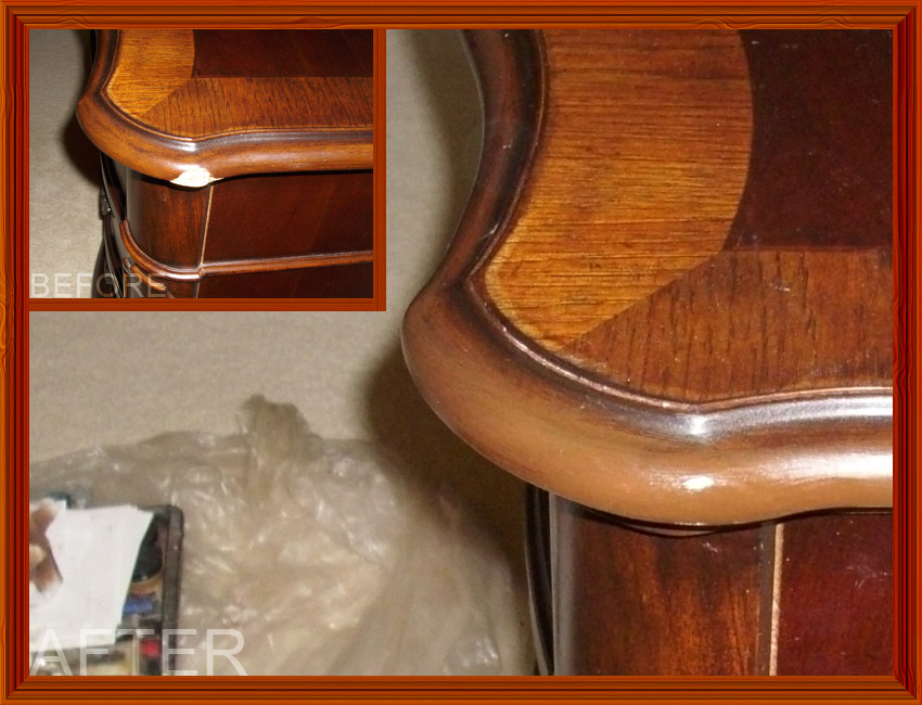 Chicago Suburbs Furniture Repair Photo Gallery