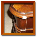 Furniture Edge Repair and Refinishing Before and After