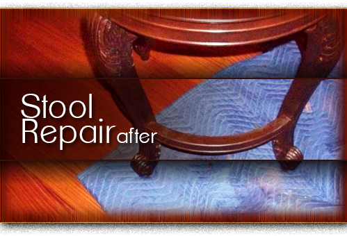 stool repair after